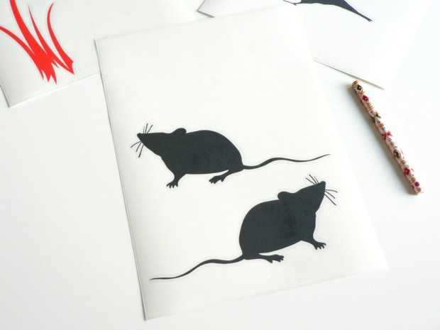 Stickers Souris