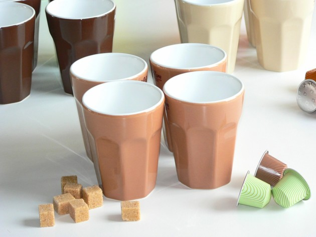 Grands Mugs Caramel (x4) Asa