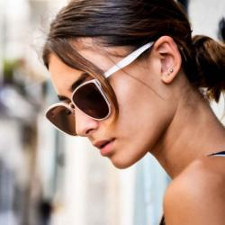 Lunettes de Soleil Sofia White Charly Therapy
