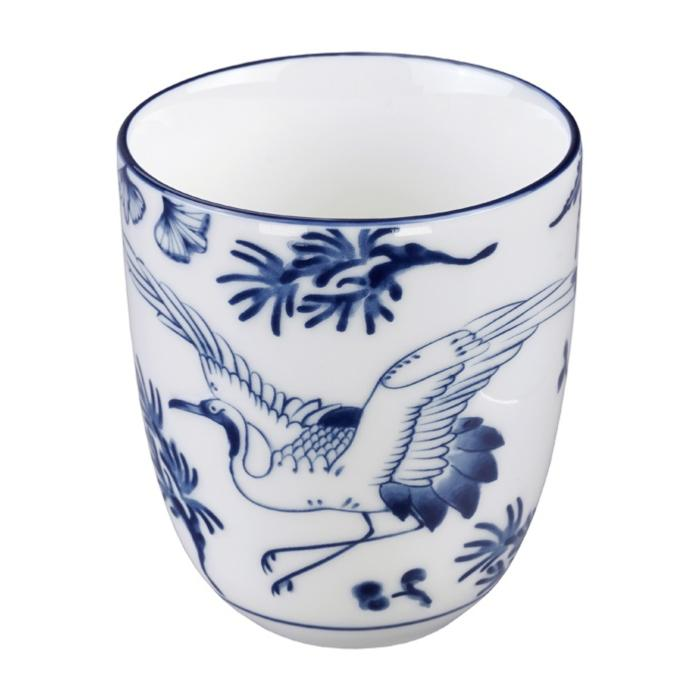 Petit Mug Sans Anse Flora Japonica Crane Tokyo Design Studio