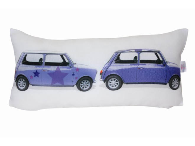 Coussin mini duo star t o jasmin for Housse de coussin 30x60