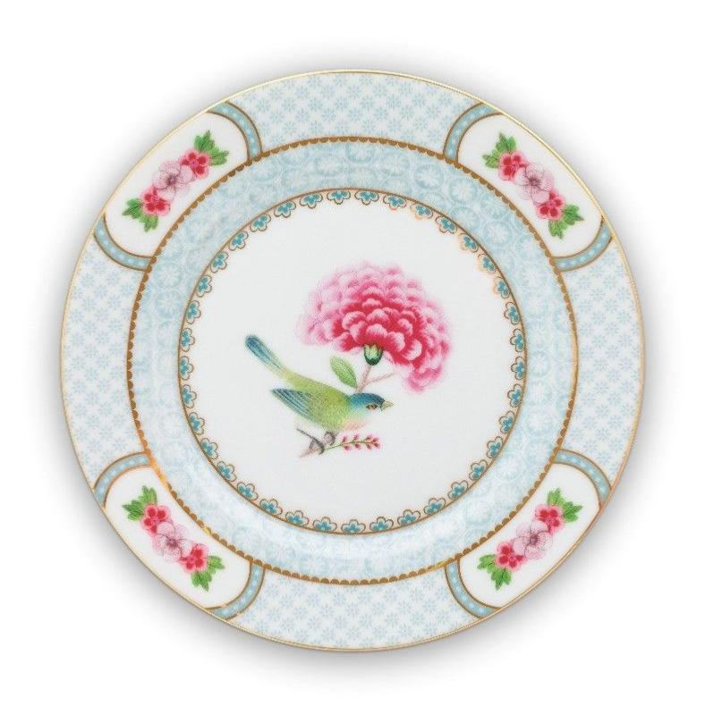 Assiette à Pain Blushing Bird Blanc 17 cm Pip Studio