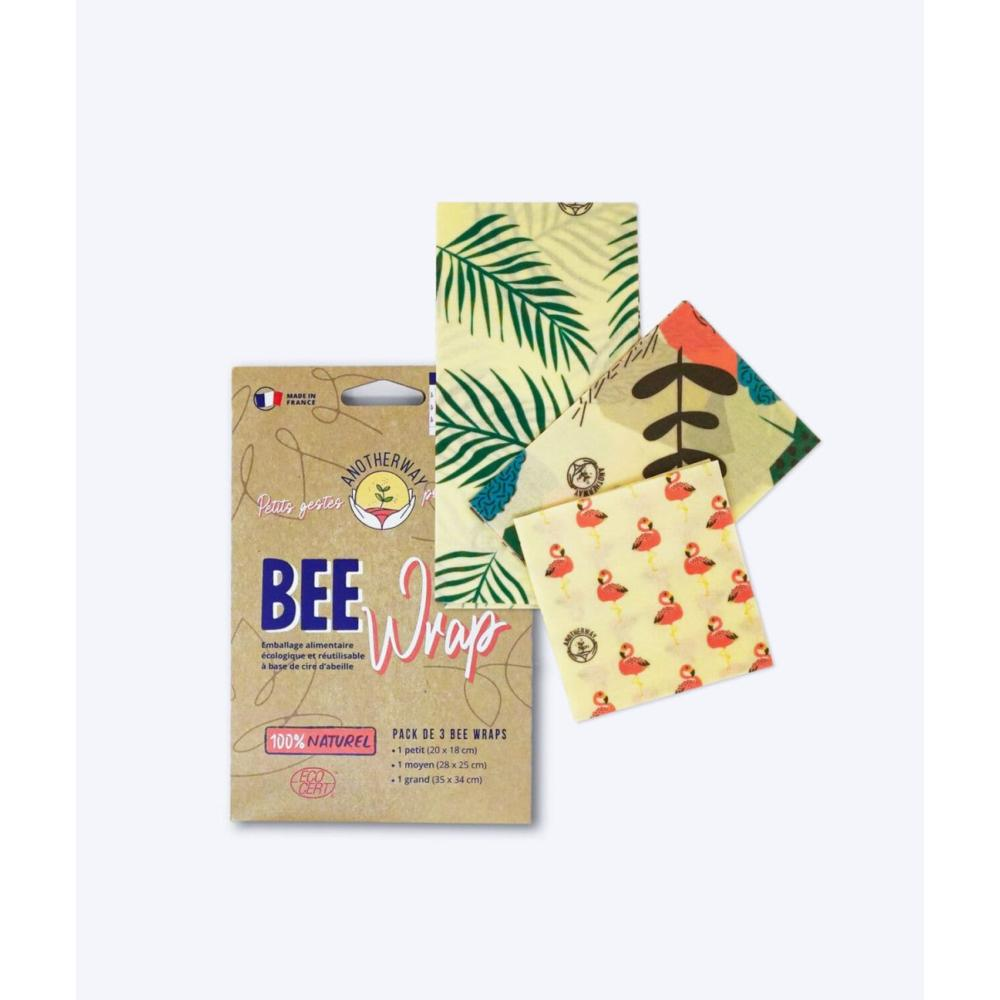 Emballage Alimentaire Réutilisable Tropical My Bee Wrap