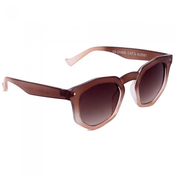 Lunettes de Soleil Audrey Brown Cream Charly Therapy