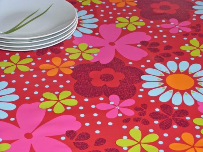 toile cir e gypsie fleurs stof. Black Bedroom Furniture Sets. Home Design Ideas