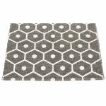 Tapis Honey Charcoal Vanille 70x60 cm Pappelina
