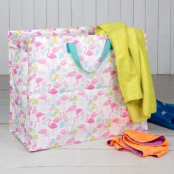 Sac de Rangement Jumbo Bag Flamingo Bay