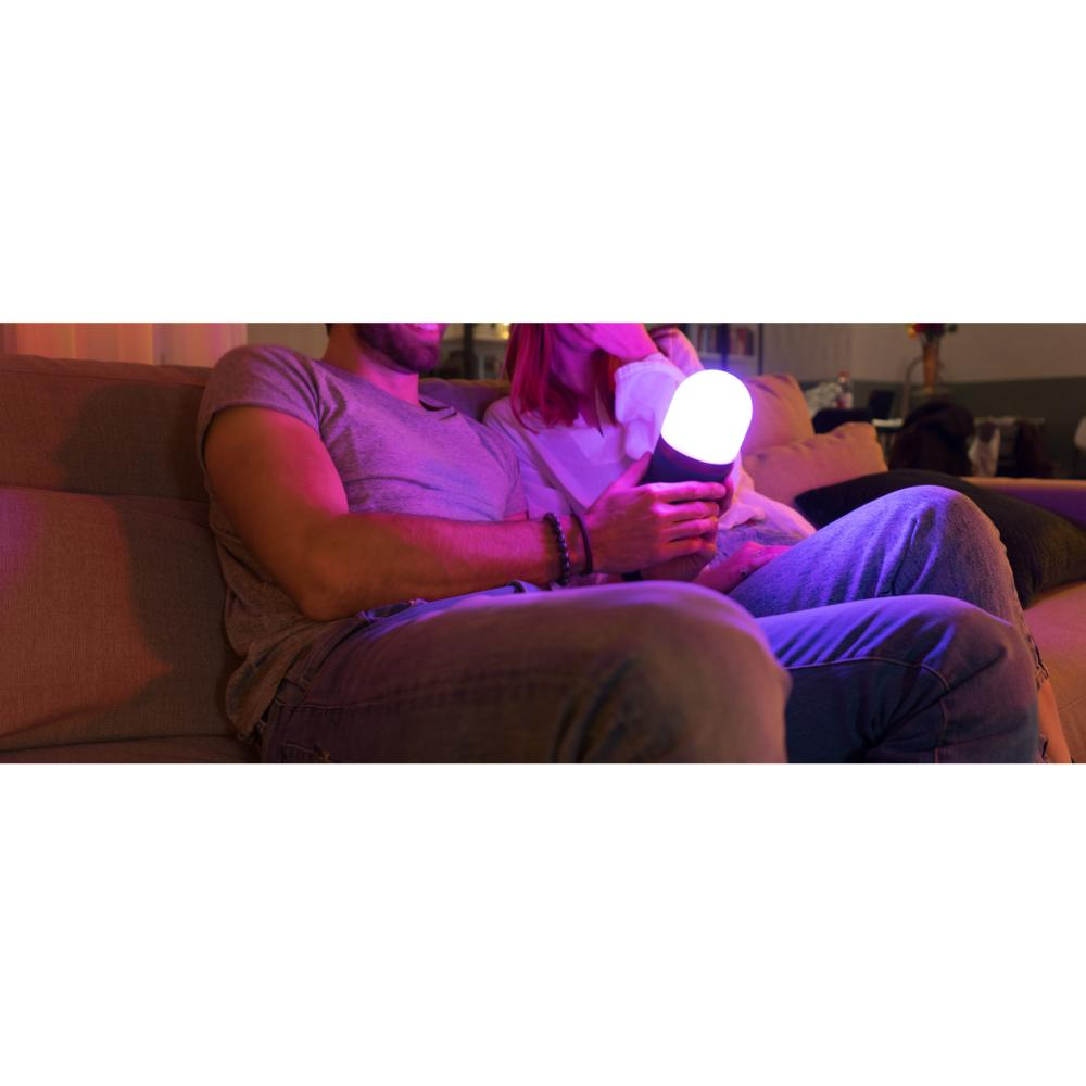 Lampe Nomade Batterie Powerbank Lucis Full Color Twist