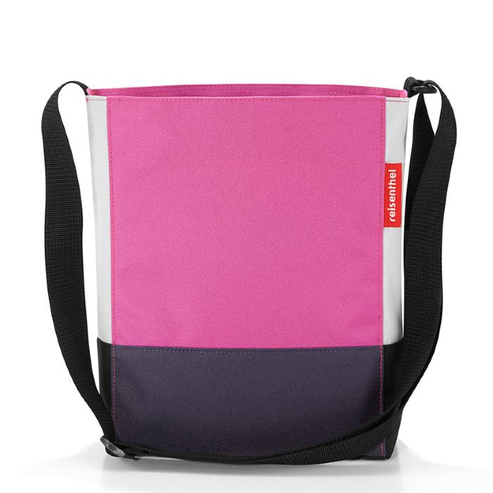 Sac Shoulderbag S Patchwork Fuschia Reisenthel