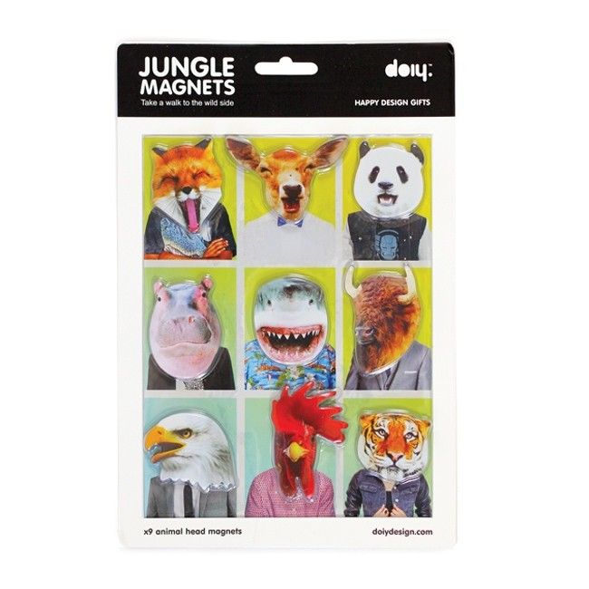 Jungle Magnets (x9)