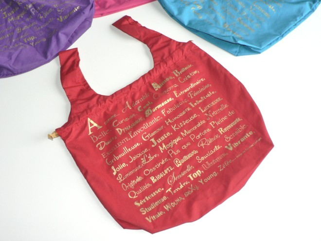 Sac ABC Rouge