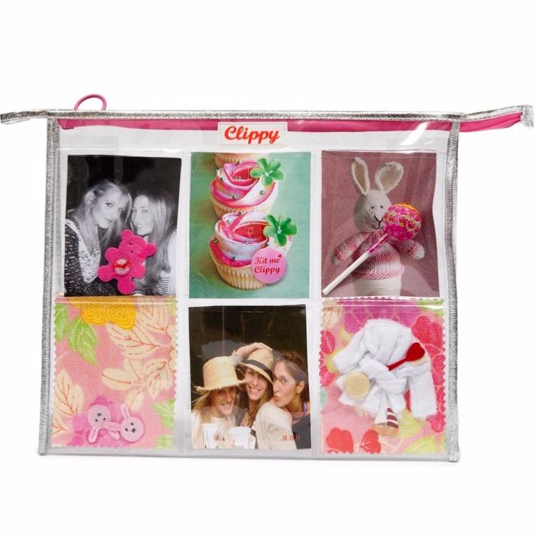 Trousse de Toilette Jumbo Washbag Argent Clippy