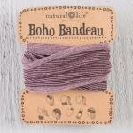 Boho Bandeau Tinsel Rose Natural Life