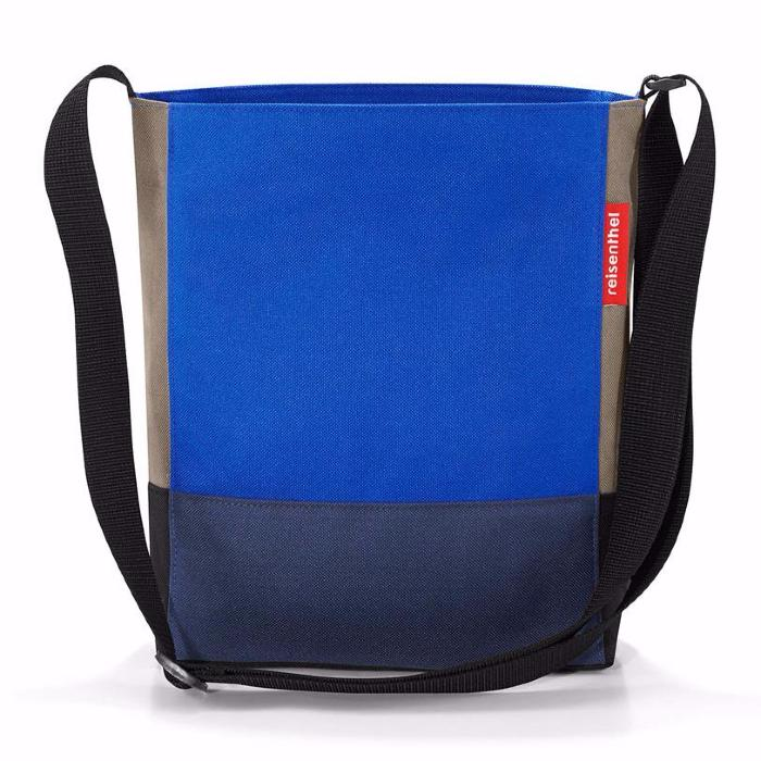 Sac Shoulderbag S Patchwork Bleu Reisenthel