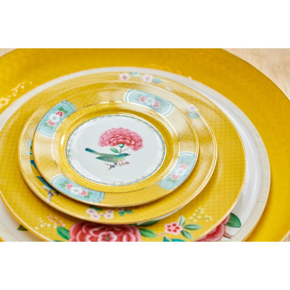 Assiette à Pain Blushing Bird Jaune 17 cm Pip Studio