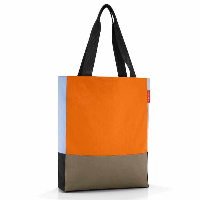 Sac Shopping Patchworkbag Citrouille Reisenthel