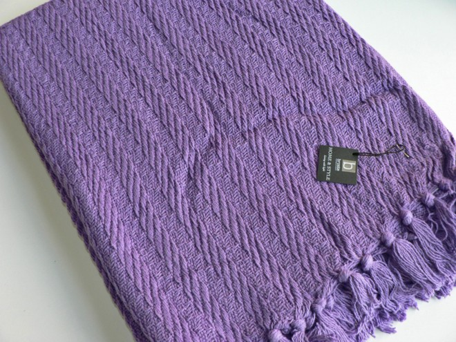 Plaid Gunvor Violet