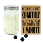 Bocal Shaker Creazy pour Faire de la Chantilly