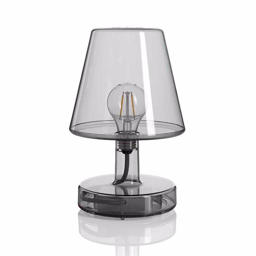 lampe fatboy sans fil transloetje transparente grise. Black Bedroom Furniture Sets. Home Design Ideas