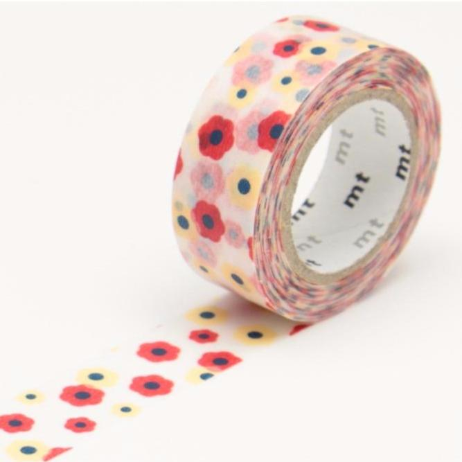 Masking Tape Kids Multicolore Flowers MT01KID04Z