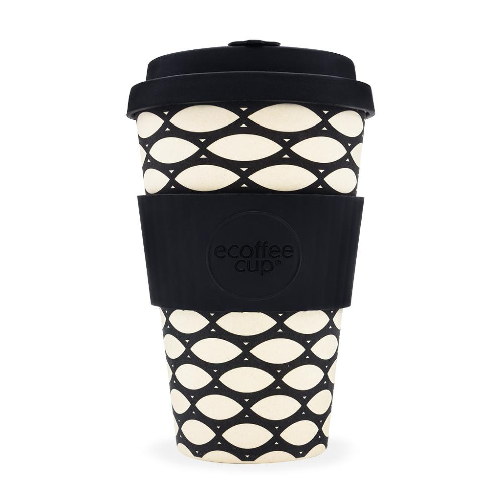 Mug Bambou Réutilisable Ecoffee Cup Basketcase 40 cl