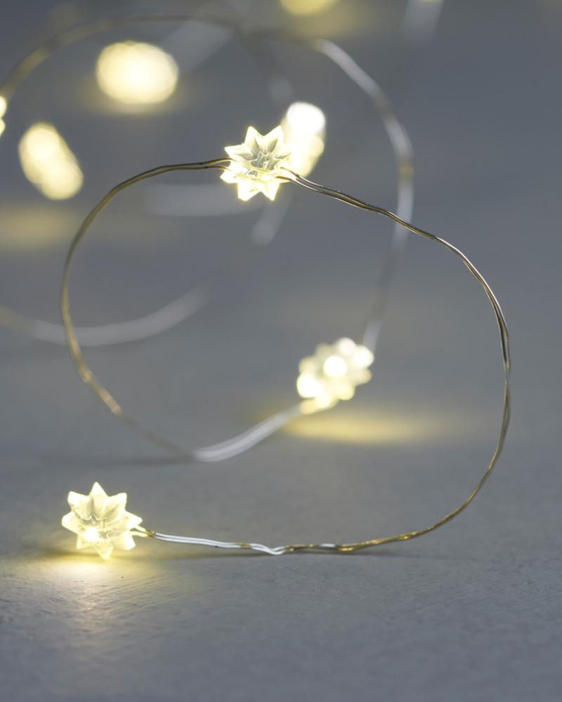 Guirlande Lumineuse 20 Leds Silke Mini Flower Indoor Sirius
