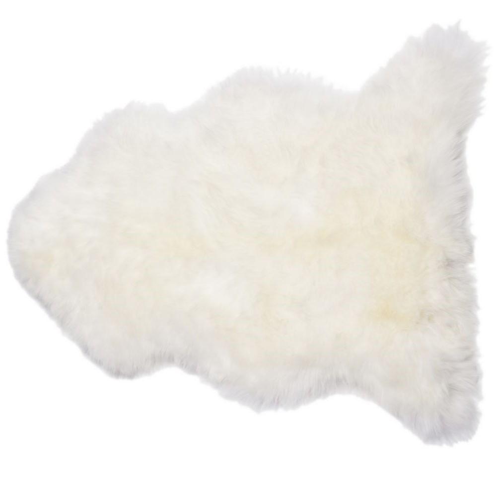 tapis en peau de mouton ivoire fibre by auskin. Black Bedroom Furniture Sets. Home Design Ideas