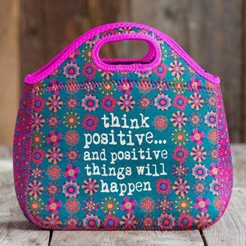 Lunch Bag Néoprène Think Positive