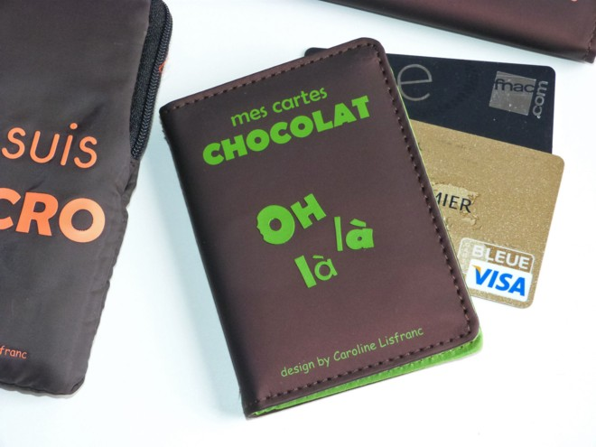 Porte cartes chocolat caroline lisfranc - Vente de chocolat porte a porte ...