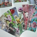 Lot de 8 Marque-Pages Design La Marelle