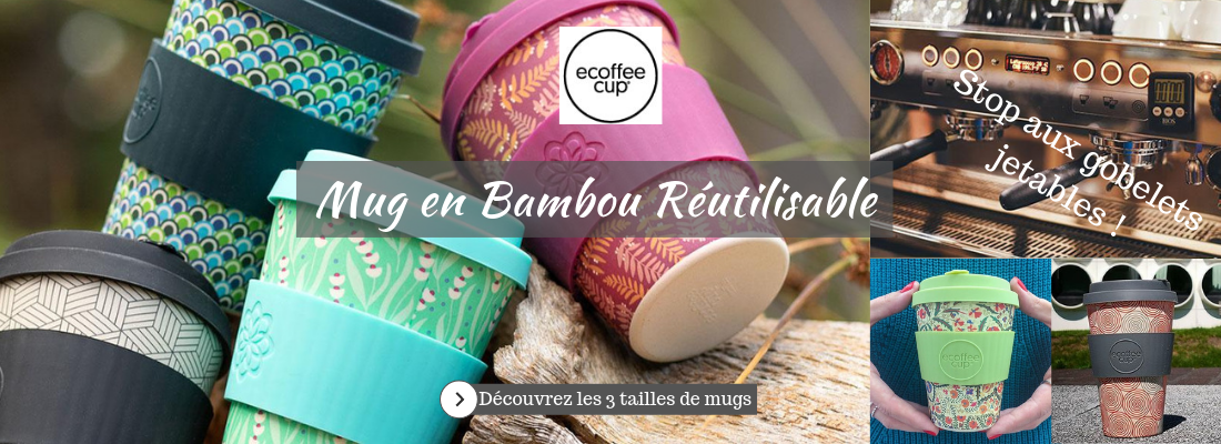 Ecoffee Cup Gobelet Bambou
