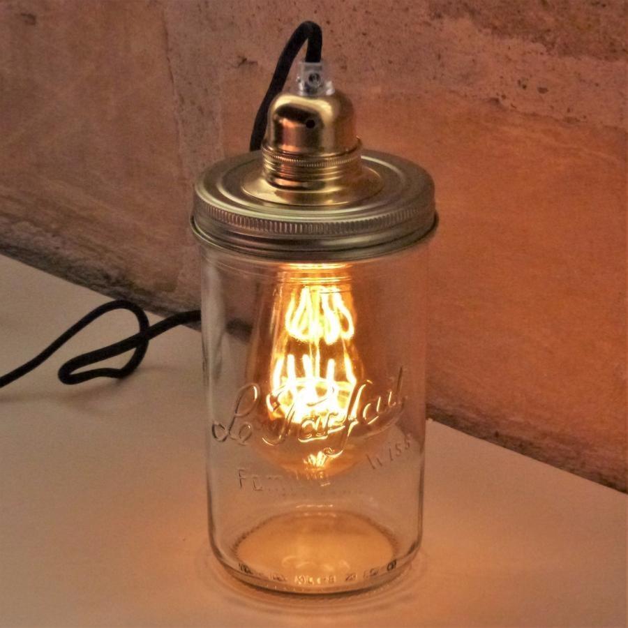Lampe bocal en verre - Lampe bocal le parfait ...