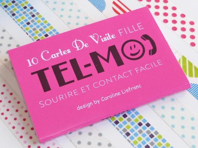 10 Cartes De Visite Fille Tel Moi Caroline Lisfranc