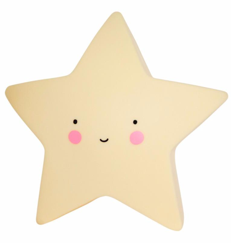 Veilleuse Mini Star Light Jaune