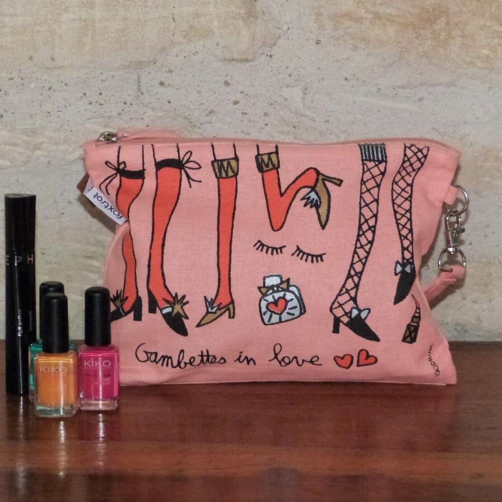 Trousse de Toilette Gambettes in Love 100drine