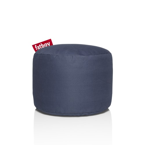 Pouf Fatboy Point Stonewashed Bleu