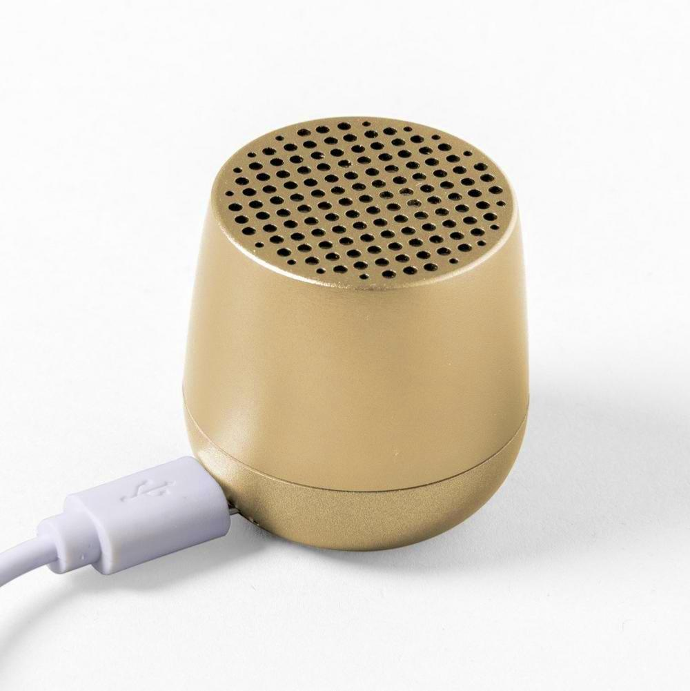 Mini Enceinte Bluetooth Mino Or Lexon