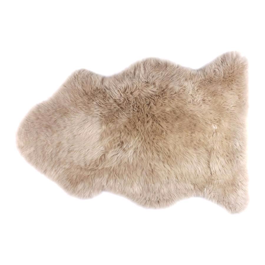 tapis peau de mouton dark linen fibre by auskin - Tapis Peau De Mouton