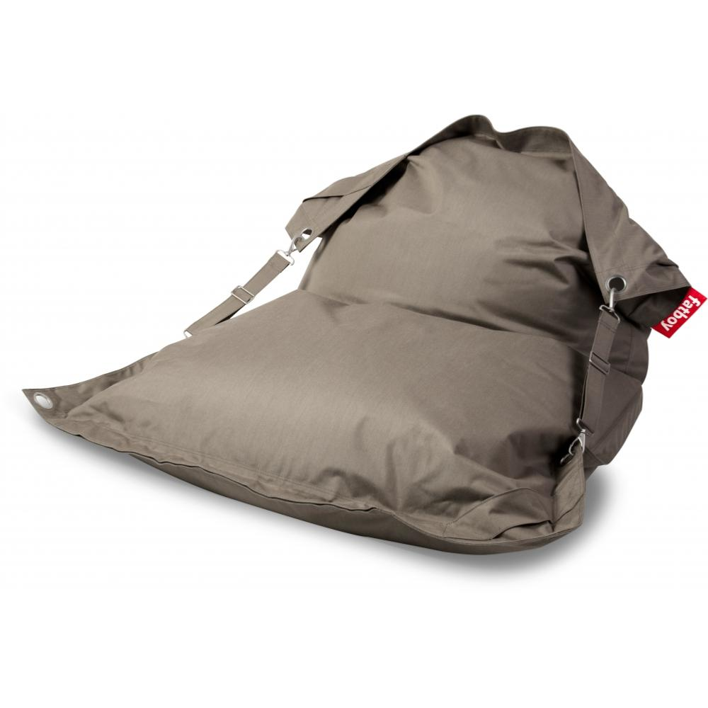 Pouf Buggle Up Outdoor Sunbrella Sandy Taupe Fatboy