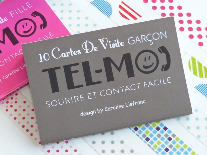 10 Cartes De Visite Garon Tel Moi Caroline Lisfranc
