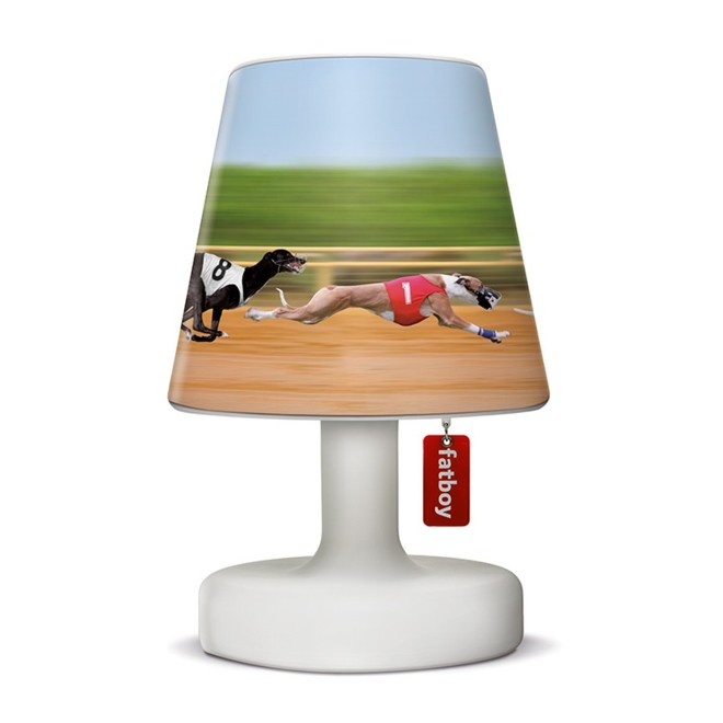 abat jour doggie race fatboy pour lampe edison the petit. Black Bedroom Furniture Sets. Home Design Ideas