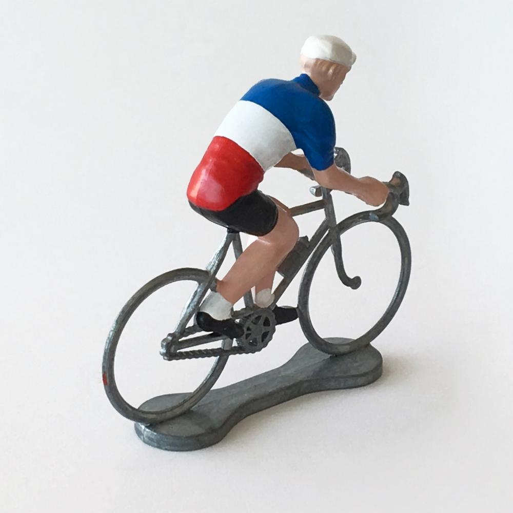 Figurine Cycliste Maillot Champion de France