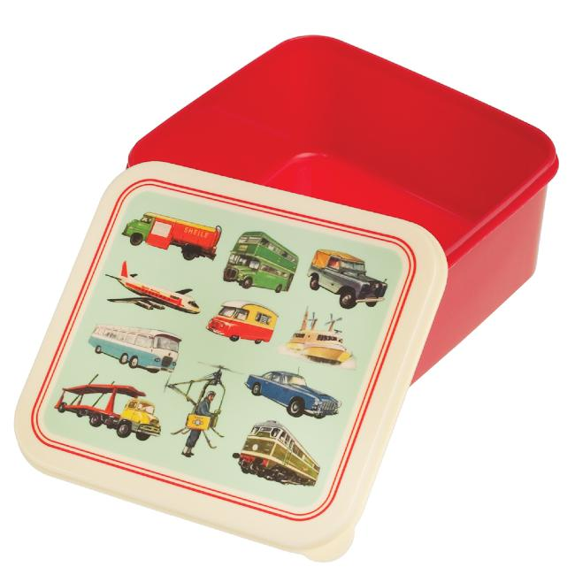Lunch Box Vintage Transport