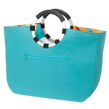 Sac Shopping Loopbag Graphic Turquoise Reisenthel